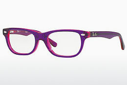 очила Ray-Ban Junior RY1555 3666 - пурпурни