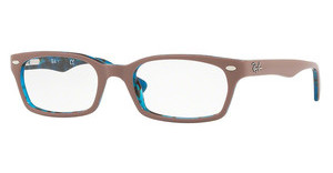 Ray-Ban RX5150 5715 TOP LIGHT BROWN ON HAVANA BLUE