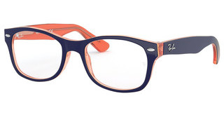 Ray-Ban Junior RY1528 3762 ORANGE TRASP ON TOP BLUE