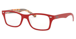 Ray-Ban Junior RY1531 3804 RED ON TEXTURE RED BROWN
