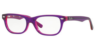 Ray-Ban Junior RY1555 3666 TOP VIOLET ON FUXIA FLUO