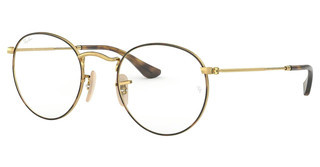Ray-Ban RX3447V 2945 GOLD ON TOP HAVANA