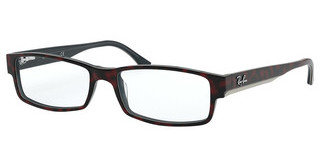 Ray-Ban RX5114 5973 TOP RED HAVANA ON OPAL BLUE
