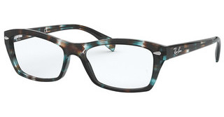 Ray-Ban RX5255 5949 HAVANA OPAL LIGHT BLUE
