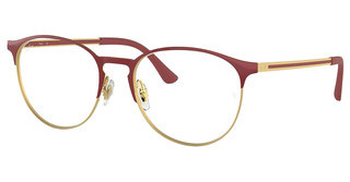 Ray-Ban RX6375 2982 GOLD TOP ON BORDEAUX