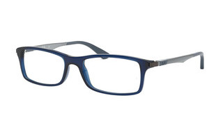 Ray-Ban RX7017 5752 TRANSPARENT BLUE
