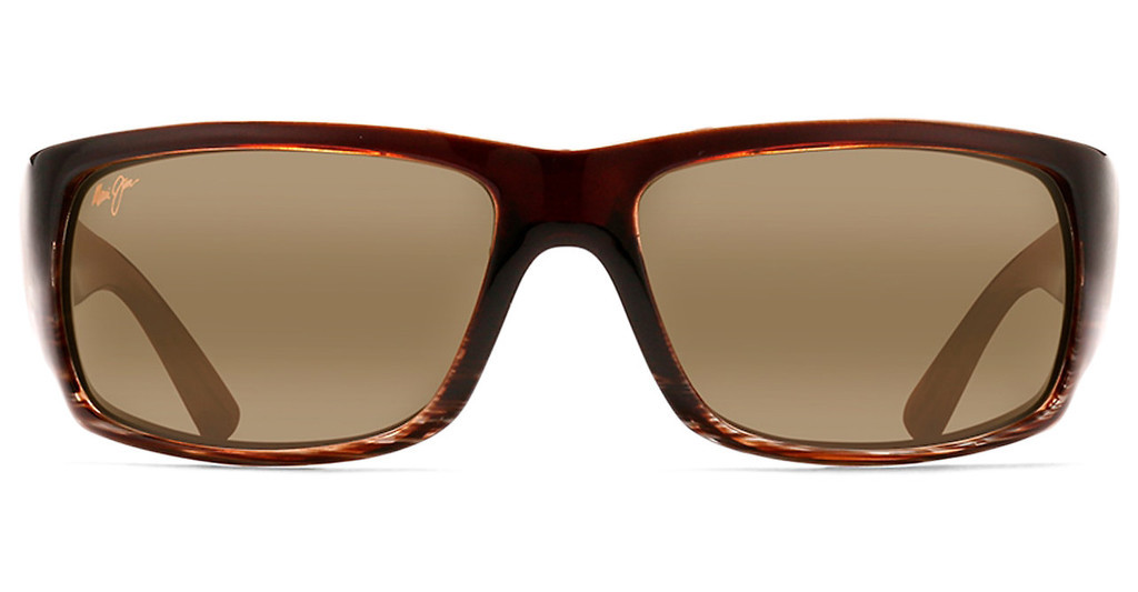Maui Jim   World Cup H266-01 HCL BronzeChocolate Stripe Fade
