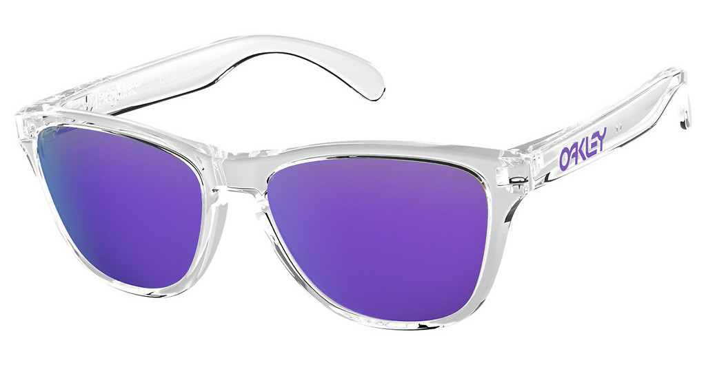 Oakley   OJ9006 900603 VIOLET IRIDIUMPOLISHED CLEAR