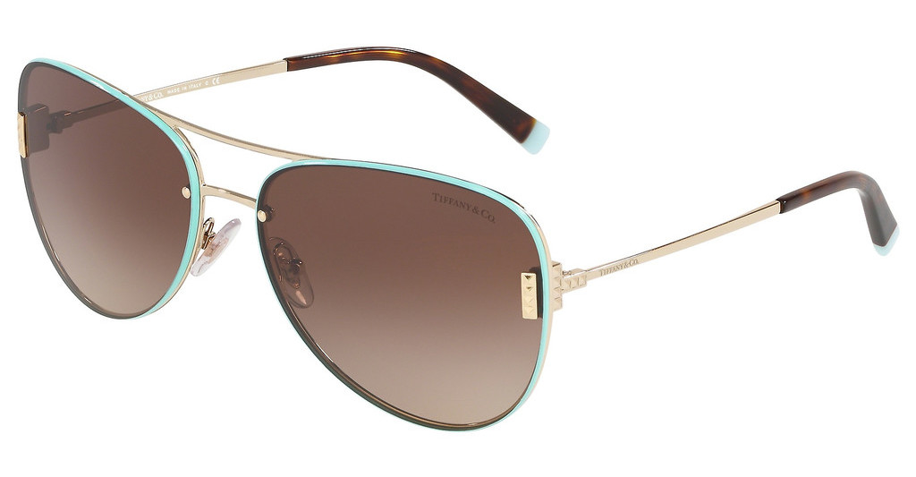 Tiffany   TF3066 60213B BROWN GRADIENTPALE GOLD