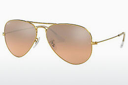 слънчеви очила Ray-Ban AVIATOR LARGE METAL (RB3025 001/3E) - златисти