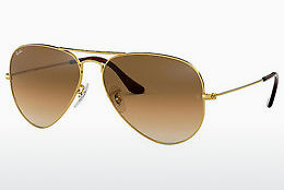 слънчеви очила Ray-Ban AVIATOR LARGE METAL (RB3025 001/51) - златисти