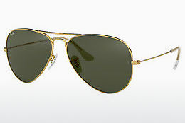 слънчеви очила Ray-Ban AVIATOR LARGE METAL (RB3025 L0205) - златисти