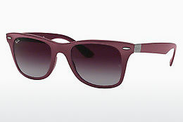 слънчеви очила Ray-Ban WAYFARER LITEFORCE (RB4195 60874Q) - сиви, пурпурни