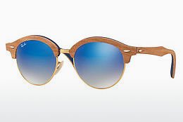 слънчеви очила Ray-Ban Clubround Wood (RB4246M 11807Q) - златисти