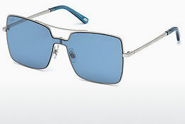 слънчеви очила Web Eyewear WE0201 16X - сребристи, Shiny, Grey