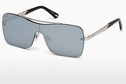слънчеви очила Web Eyewear WE0202 16C - сребристи, Shiny, Grey