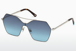 слънчеви очила Web Eyewear WE0213 16W - сребристи, Shiny, Grey