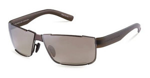 Porsche Design P8509 D brown gradient, silver mirroredbrown