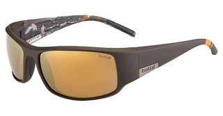 Bolle King 12120 Polarized Inland Gold oleo ARMatte Brown Sea