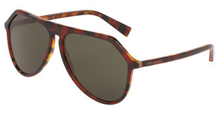 Dolce & Gabbana DG4341 322282 DARK GREENDARK RED HAVANA