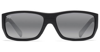 Maui Jim Wassup 123-02W Neutral GreyMatte Black Wood Grain