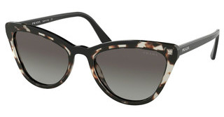 Prada PR 01VS 3980A7 GREY GRADIENTOPAL SPOTTED BROWN/BLACK