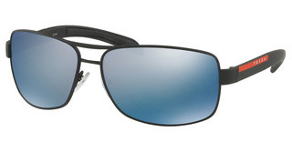 Prada Sport PS 54IS DG02E0 POLAR DARK GREY MIRROR WATERBLACK RUBBER