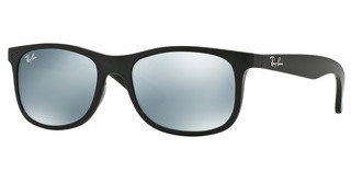 Ray-Ban Junior RJ9062S 701330 FLASH GREYMATTE BLACK ON BLACK