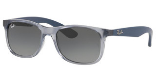 Ray-Ban Junior RJ9062S 705011 GREY GRADIENT DARK GREYTRASPARENT BLUE