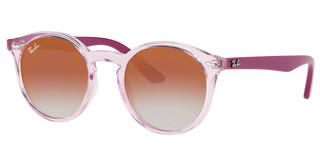 Ray-Ban Junior RJ9064S 7052V0 RED MIRROR REDTRASPARENT PINK