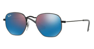Ray-Ban Junior RJ9541SN 261/7V BROWN FLASH BLUEDEMI GLOS BLACK ON GREY