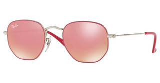 Ray-Ban Junior RJ9541SN 263/E4 PINK FLASH COPPERSILVER TOP FUXIA