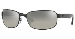 Ray-Ban RB3566CH 002/5J GREY MIR GREY GRADIENT POLARSHINY BLACK
