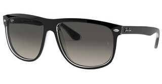 Ray-Ban RB4147 603971 LIGHT GREY GRADIENT DARK GREYBLACK ON TRANSPARENT