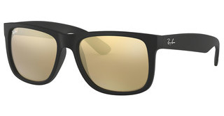 Ray-Ban RB4165 622/5A LIGHT BROWN MIRROR GOLDRUBBER BLACK