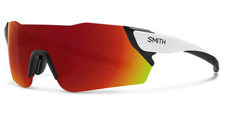 Smith ATTACK 6HT/X6 RED ML CPMATTWHITE