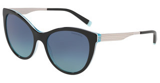 Tiffany TF4159 82749S AZURE GRADIENT BLUEBLACK/CRYSTAL BLUE