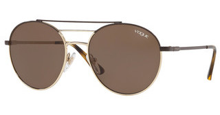 Vogue VO4117S 848/73 BROWNBROWN/PALE GOLD