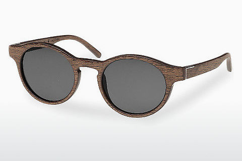 слънчеви очила Wood Fellas Flaucher (10754 black oak/grey)