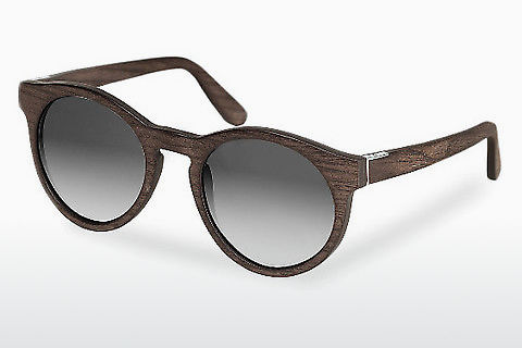 слънчеви очила Wood Fellas Au (10756 black oak/grey)