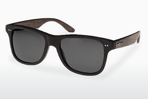 слънчеви очила Wood Fellas Lehel (10757 rosewood/black/grey)