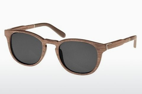 слънчеви очила Wood Fellas Bogenhausen (10762 walnut/grey)