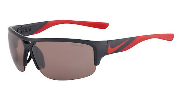Nike   NIKE GOLF X2 E EV0871 060 MATTE DARK MAGNET GREY/CHALLENGE RED WITH SPEED TINT  LENS
