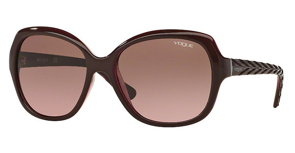 Vogue   VO2871S 226214 PINK GRADIENT BROWNTOP BORDEAUX/PINK TRANSPARENT